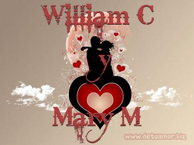 Juntos Por Siempre: William C y Mary M