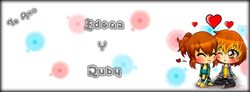 Portada Facebook Edgar y Ruby